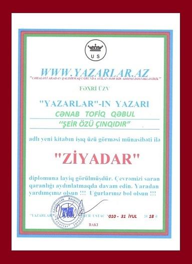 TOFİQ QƏBUL